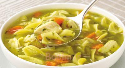 پخت سوپ رشته فرنگی و مرغ,طرز درست کردن سوپ رشته فرنگی و مرغ