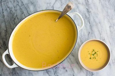 سوپ گل کلم و پنیر چدار,مواد لازم برای سوپ گل کلم و پنیر چدار