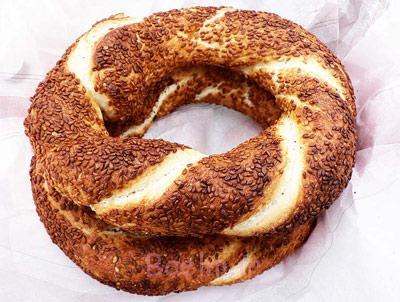 پخت نان سیمیت,طرز تهیه شیرینی سیمیت
