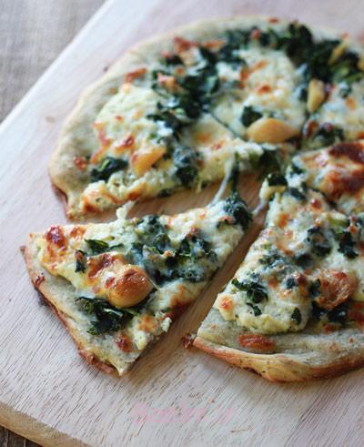 طرز تهیه پیتزا رژیمی,مواد لازم برای پیتزا فوری رژیمی