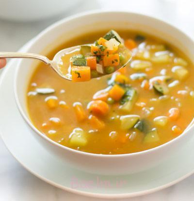 مواد لازم برای سوپ کرفس و هویج,طرز تهیه سوپ های پاییزی