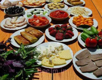 چه موادی را با هم نخوریم , تغذیه سالم