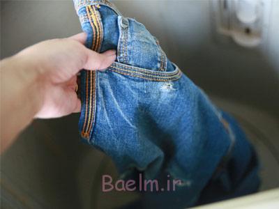 نحوه شستن لباس هایی که رنگ می دهند,روش های شستن لباس ها