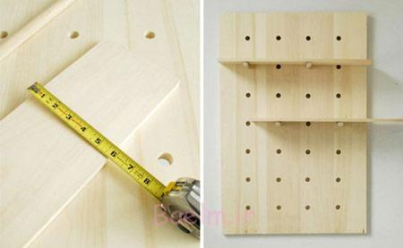 نحوه ساخت طاقچه چوبی,درست کردن طاقچه چوبی