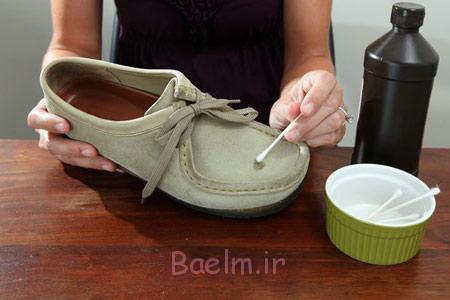 تمیز کردن کفش جیر با لوازم خانگی, تمیز کردن کفش جیر با وسایل خانگی