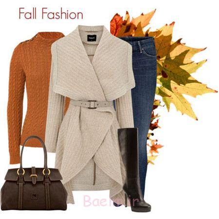 مدل ست پاییزی زنانه,مدل لباس پاییزی زنانه
