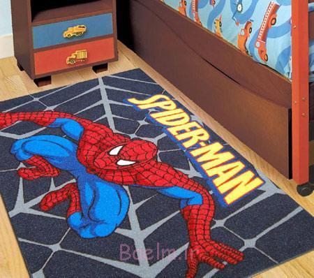 فرش بچه گانه, فرش اتاق کودک, مدل فرش اتاق کودک, فرش فانتزی اتاق کودک,