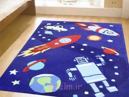 فرش های مناسب اتاق کودک, طرح های بچگانه فرش