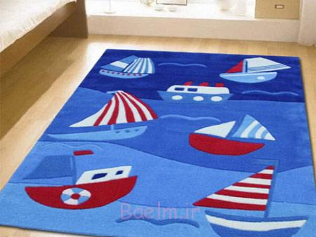 فرش با طرح بچگانه, طراحی فرش های بچه گانه