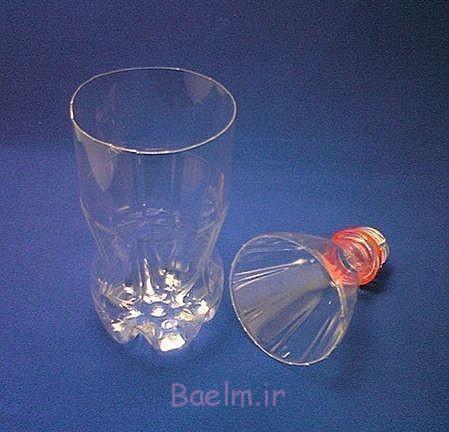 بطری های پلاستیکی vase- DIY فوق العاده 3