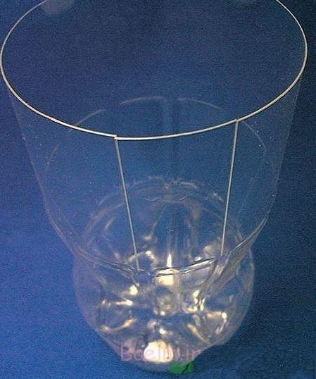 بطری های پلاستیکی vase- DIY فوق العاده 4