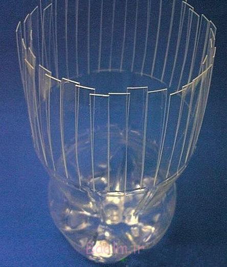بطری های پلاستیکی vase- DIY فوق العاده 5