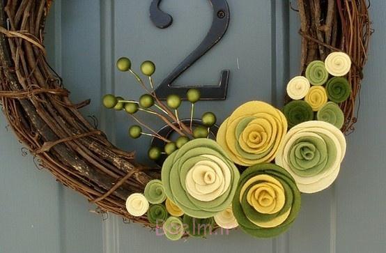 بهار و تاج گل-با-سبز-احساس-گل