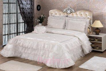 Duru Bedspread - Cream