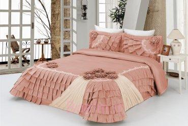 Bouquet Bedspread - Powder