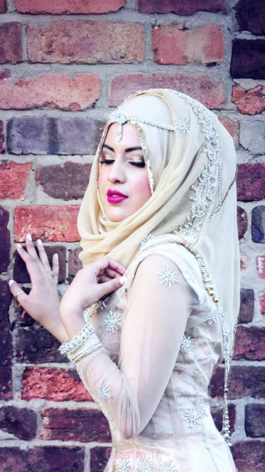 3 Wedding Wear hijab trends 2015 6 Trends of Wedding Muslim Women Islamic