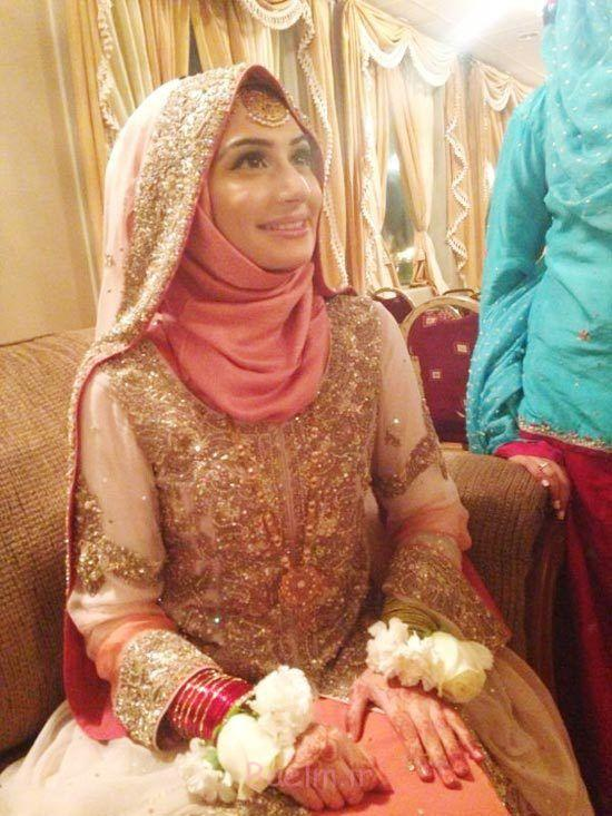 4 Wedding Wear hijab trends 2015 5 Trends of Wedding Muslim Women Islamic