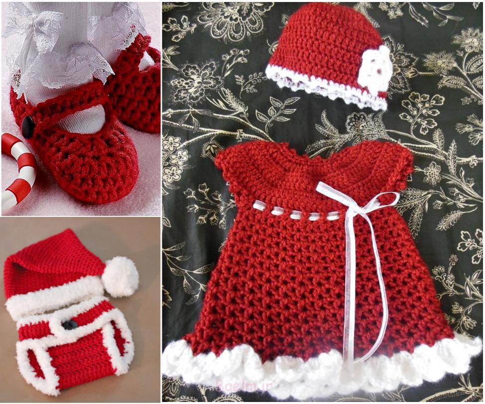 هدیه کریسمس مجموعه -FREE-Crochet-