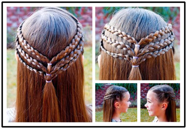 ناز شاهزاده خانم مدل موهای برای بلند مو برای مامانی شما wonderfuldiy 8 عکس شاهزاده خانم مدل مو