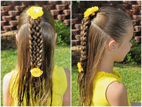 زیبا-هفت رشته-بهم تابیدن و بافتن-مدل موهای
