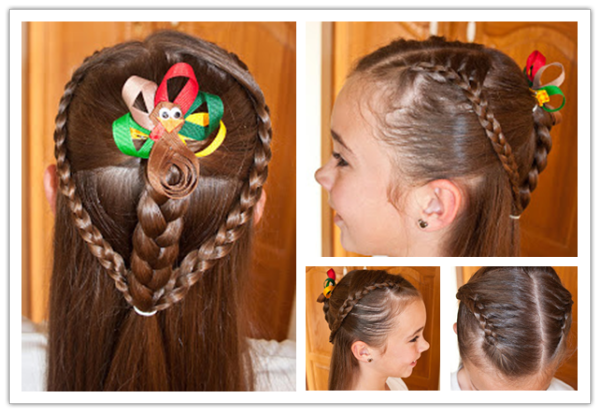 DIY-زیبا-مدل موهای-برای-دختر-کوچک