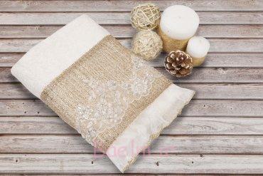 Alanur Hand Towel - Cream