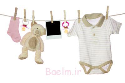 شستن لباس نوزاد با شامپو