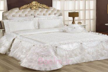 Bahar Bedspread - Cream