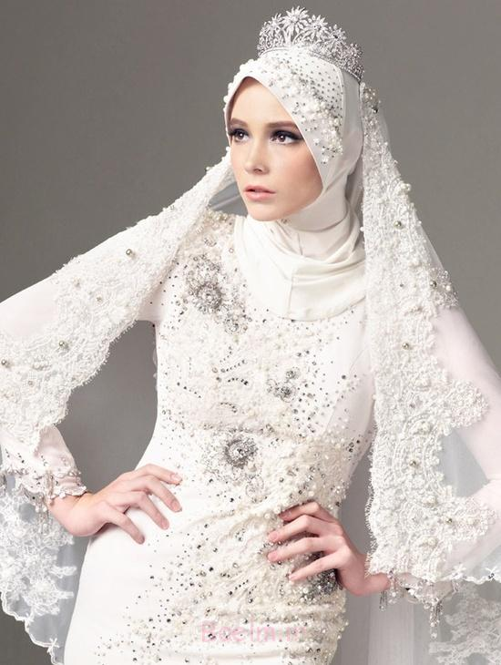 d1e1754fd93f4f281fb2117c4b4d8e96 Modern Islamic Wedding Dresses 2015/2016