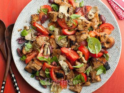 طرز تهیه سالاد ایتالیایی, پخت سالاد ایتالیایی با مرغ