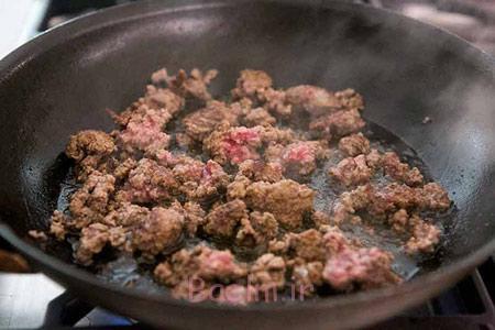 درست کردن همبرگر گوشت, نحوه پخت همبرگر گوشت