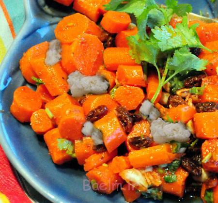 سالاد هویج و پنیر فتا,طرز تهیه سالاد هویج و پنیر فتا