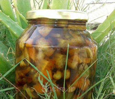 مواد لازم برای ترشی قارچ,طرز تهیه ترشی قارچ