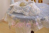 French Silk Table Cloth Set