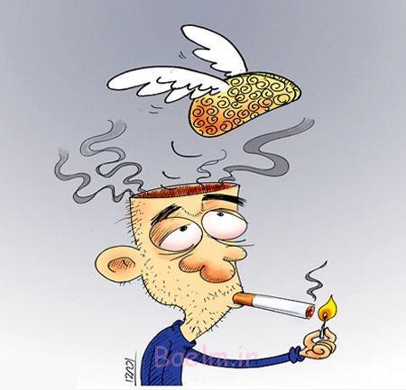 اعتیاد به مواد مخدر, کاریکاتورهای طنز و خنده دار