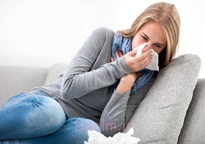 درمان خانگی سرماخوردگی, علائم آنفلوانزا