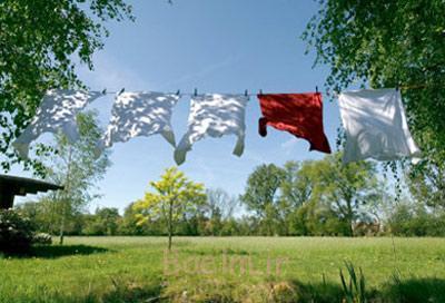 روش های خشک کردن لباس,روش های اصولی خشک کردن لباس