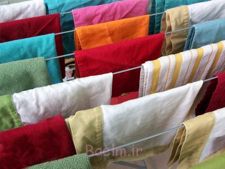 راهنمای شستشوی لباس,شستشو و خشک کردن لباس