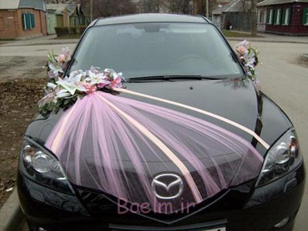 تزیین تجملی ماشین عروس, تزیین ماشین عروس قدیمی