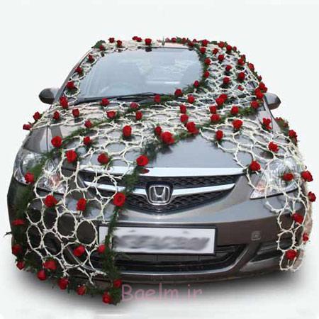 تزیین ماشین عروس قدیمی, تزیین ماشین عروس ایرانی