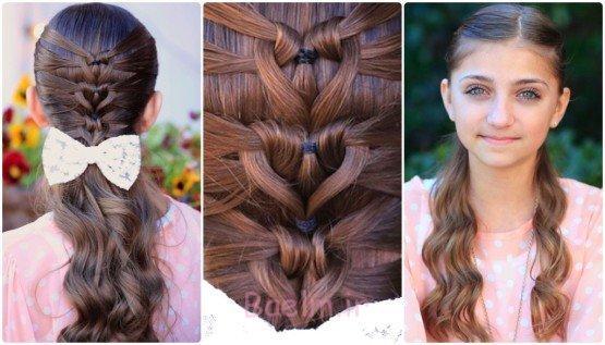 پری دریایی، توری قلب مدل موهای-wonderfuldiy