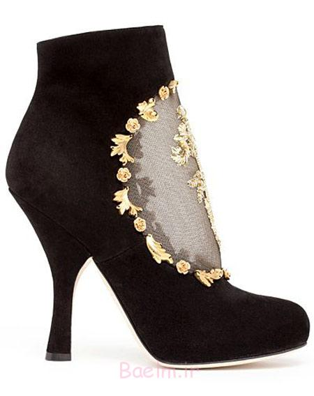 مدل کفش برند D&G,مدل نیم بوت D&G