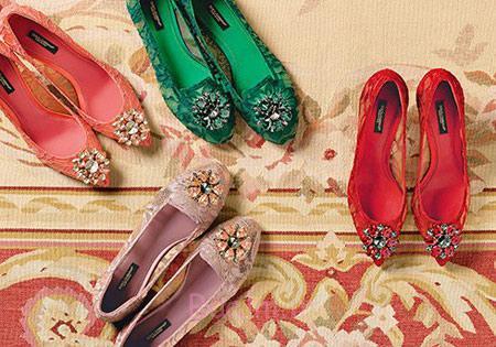 کفش زنانه D&G, مدل کفش برند D&G