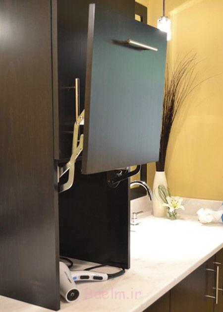 کمدهای کاربردی سرویس بهداشتی, دکوراسیون حمام و دستشویی