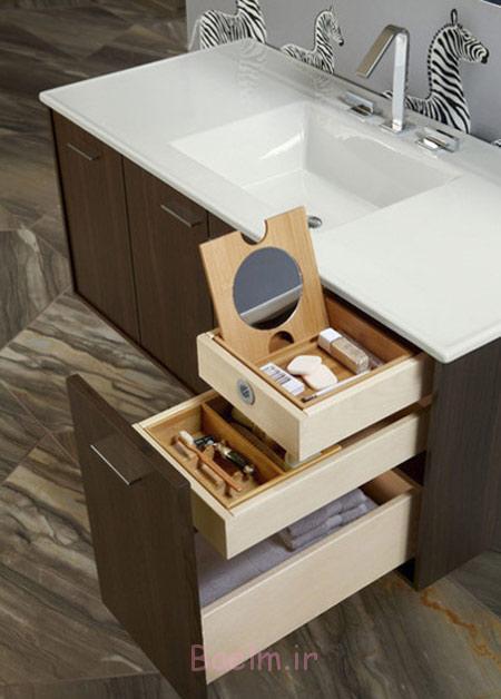 کابینت های کاربردی سرویس بهداشتی, طراحی داخلی سرویس بهداشتی