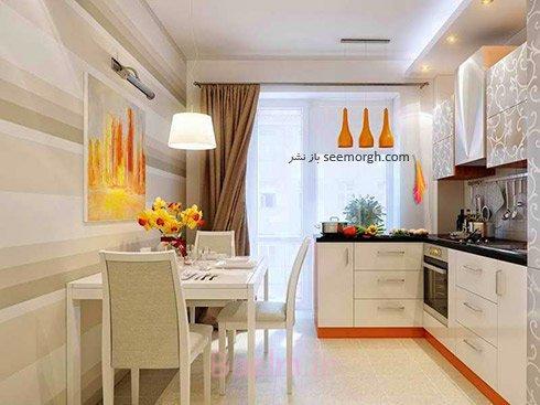 طراحی ویژه آشپزخانه برای خانه های کوچک