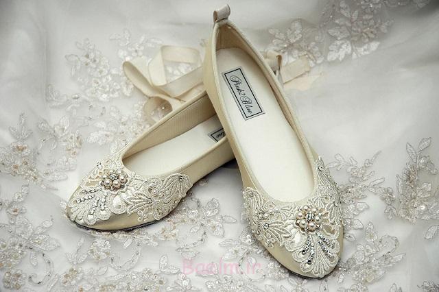 عروسی تخت کفش برای عروس