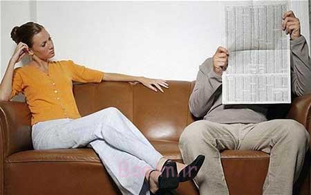 دلایل بیعلاقه شدن همسران به هم