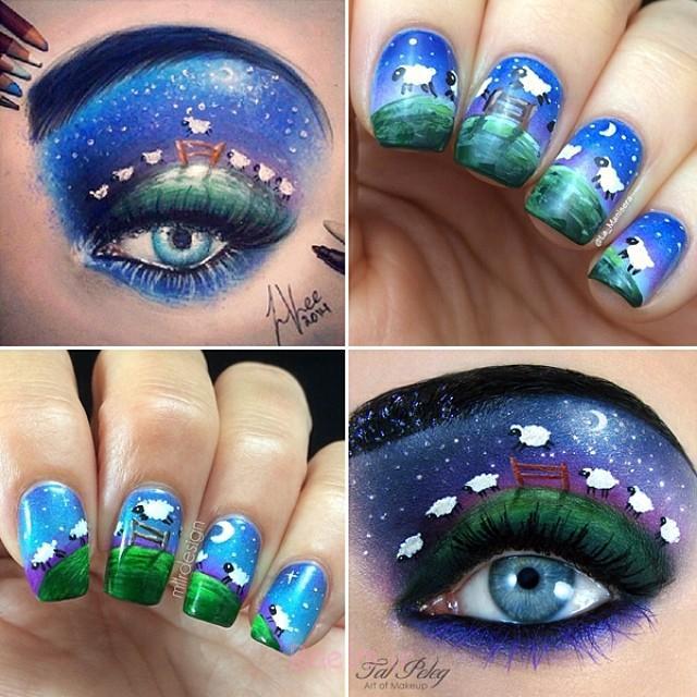 نقاشی-چشم-