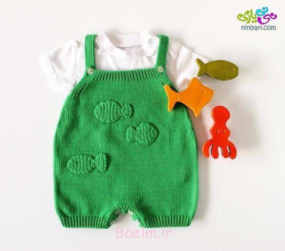 مدل های زیبای لباس بافتنی برای نوزادان ۱ تا ۶ ماهه | قلاب بافی ...